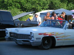 White_Cadillac_with_flames_at_Power_Big_Meet_2005